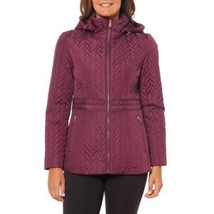 NWT Kate Spade New York Chevron Quilted Coat XL